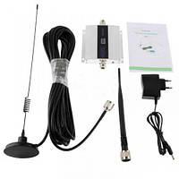 GSM усилитель сигнала мобильной связи репитер ABX 900 МГц с антеннами и радиочастотными кабелями