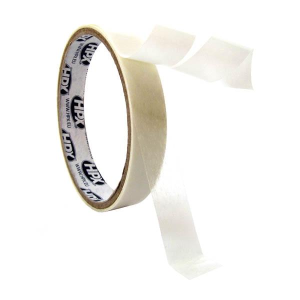 НРХ 17400 - тонкая пленочная двухсторонняя клеящая лента (скотч) - 0.08мм - 6мм x 50м