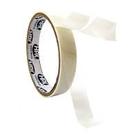НРХ 17400 - тонкая пленочная двухсторонняя клеящая лента (скотч) - 0.08мм - 6мм x 50м, фото 1