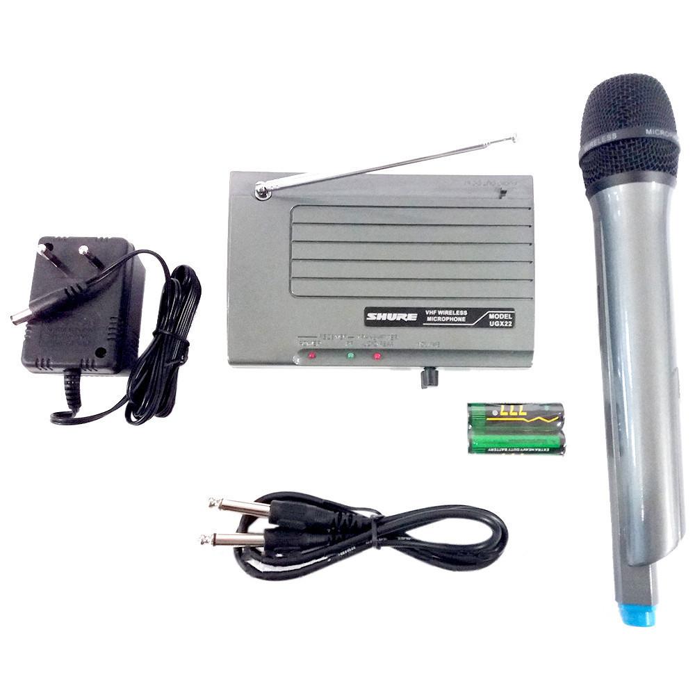 Беспроводной микрофон с радиусом 50 метров от базы Shure UGX-22