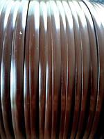 """Искус ротанг для изготовления садовой мебели Aura сегмент круга >8мм*1,4мм бухтами 5 кг колір""""венге"""""""