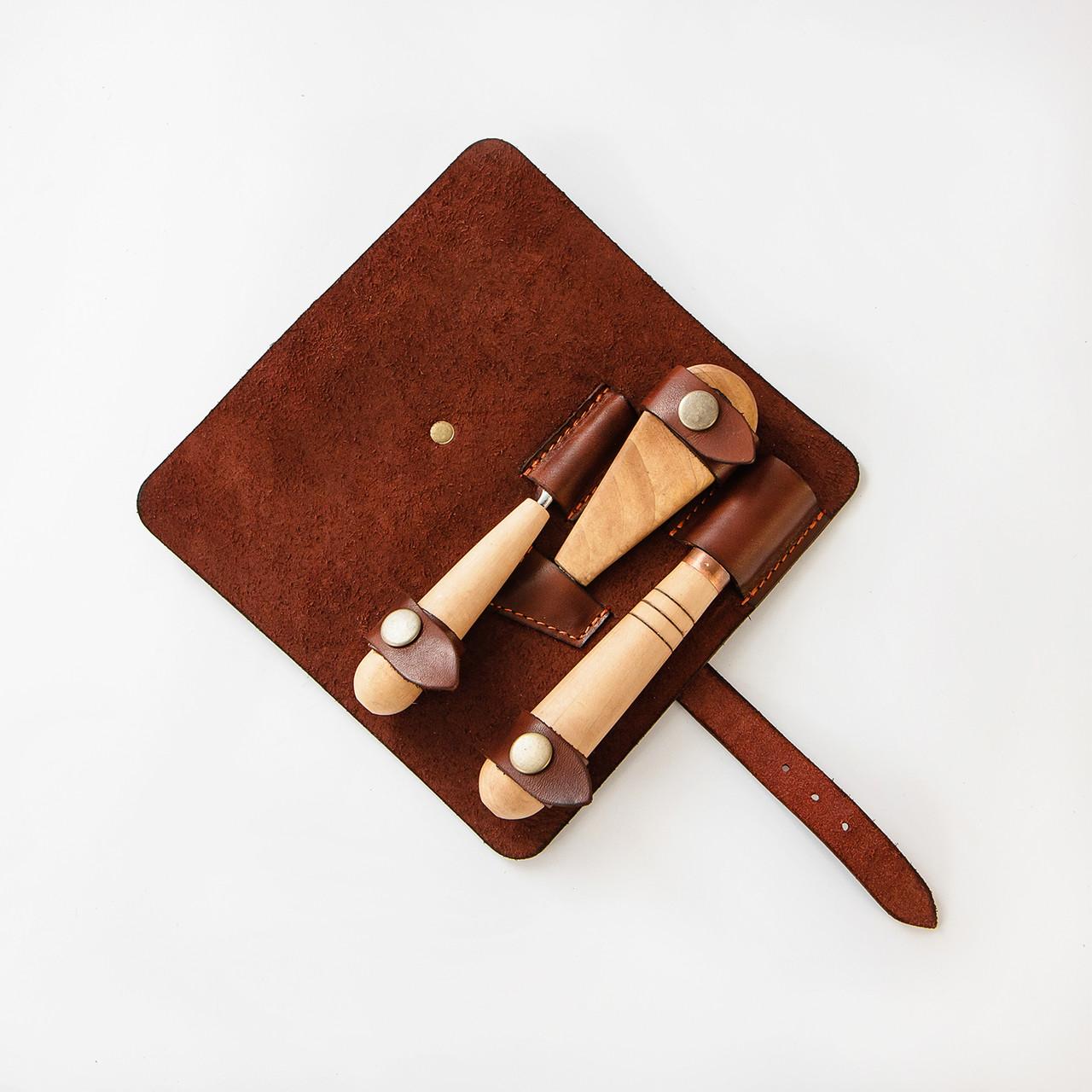Кожаный чехол под набор инструментов АЮ