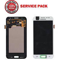 Дисплей + сенсор Samsung J500 Galaxy J5 Белый Оригинал 100% SERVICE PACK GH97-17667A