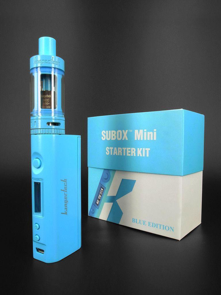Вейп электронная сигарета 4,5 мл Kanger Tech SUBOX Mini Starter Kit Синий