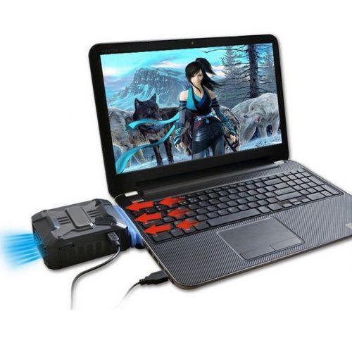 USB Вентилятор для ноутбука ABX вакуумный кулер