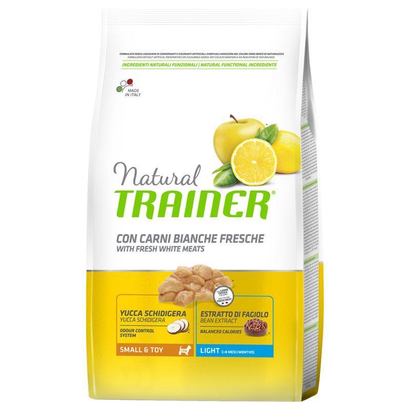 Сухой корм Trainer Natural корм для взрослых собак мелких пород с избыточным весом 7 КГ
