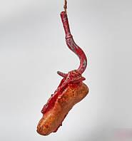 Хэллоуин! Муляж декоративный Нога с крюком 20-30 см для Украшения, 6 шт/уп