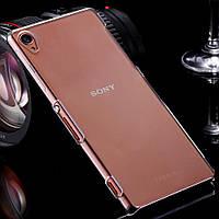 Чехол силиконовый ультратонкий для Sony Xperia Z3 D6603 D6633 Dual прозрачный