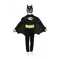 Костюм карнавальный Бэтмена с мышцами для мальчика