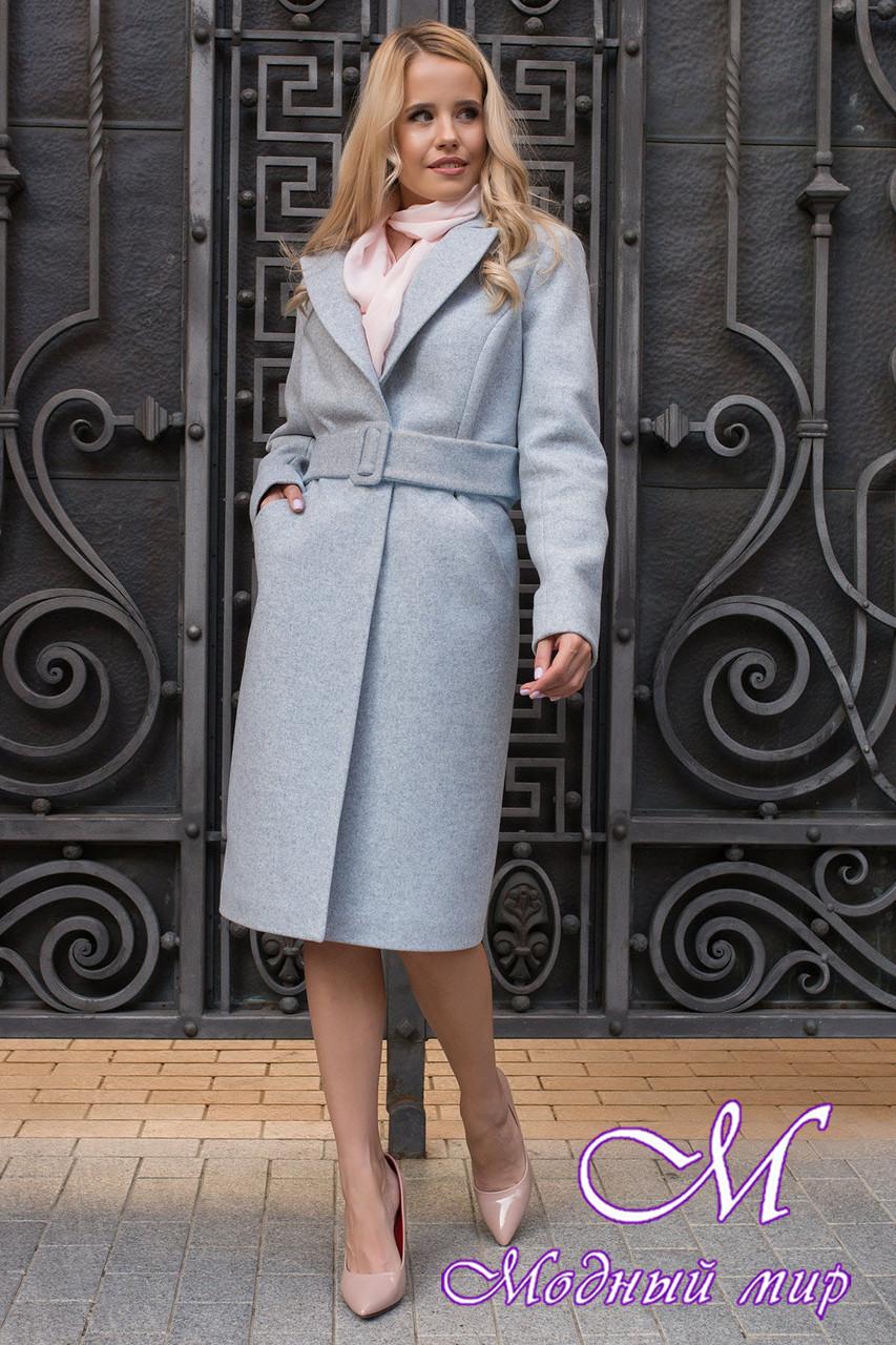 Женское осеннее пальто до колена (р. S, M, L) арт. К-79-72/43933