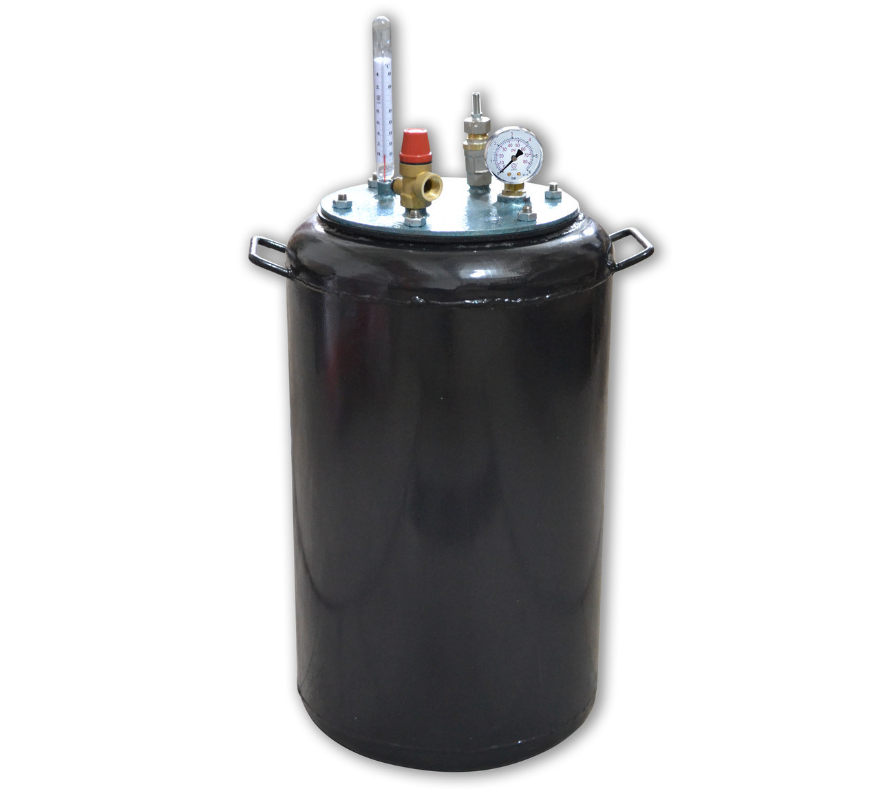Автоклав на газ бытовой Утех32 (черная сталь 2.5 мм / 32 банок 0,5)