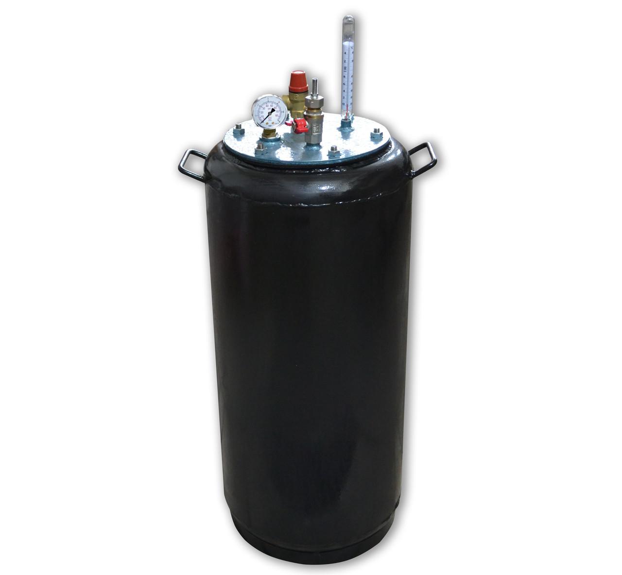 Автоклав большой бытовой Утех40 (черная сталь 2.5 мм / 40 банок 0,5)