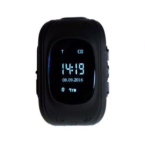 Умные смарт-часы детские с GPS Smart Watch UWatch Q50/G36 Черный