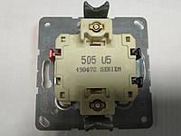 Выключатель двухклавишный с подсветкой Jung 505 U5 механизм, фото 1