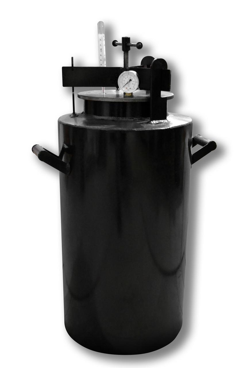 Недорогой автоклав бытовой Че44 (черная сталь / 44 банки 0,5)