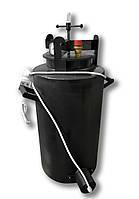 Автоклав автоматический бытовой с терморегулятором Че44 электрический / газовый (черная сталь / 44 банок 0,5)