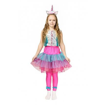 Дитячий костюм Єдинорога Лол карнавальний для дівчинки, фото 2