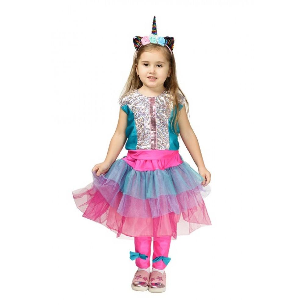 Дитячий костюм Єдинорога Лол карнавальний для дівчинки