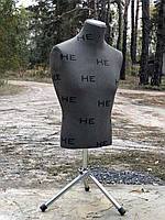 Манекен б/у мужской торс  на треноге, фото 1