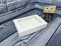 *10 шт* / Коробка для пряников / 100х150х30 мм / Белая / окно-обычн, фото 1