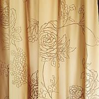 Шторы с розой от Anka textile