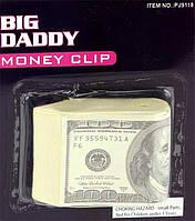 Пачка баксов подставка под дверь ( пресс денег прикол )