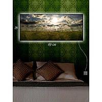 Светодиодная картина с Led-подсветкой IdeaX Ветер перемен 29х69 см