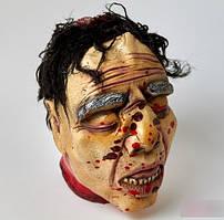 Хэллоуин! Декоративный Муляж Голова мужская 22 см для Интерьера