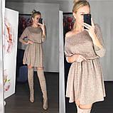 Стильное ангоровое платье с 40 по 46рр, 2 цвета, фото 2
