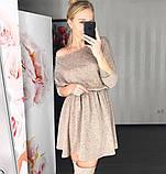 Стильное ангоровое платье с 40 по 46рр, 2 цвета, фото 3