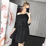 Стильное ангоровое платье с 40 по 46рр, 2 цвета, фото 6