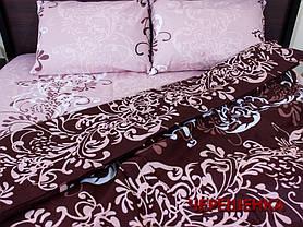 """Двуспальный набор постельного белья 180*220 из Бязи """"Gold"""" №151176AB Черешенка™, фото 2"""