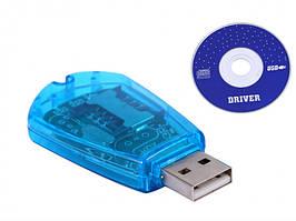 Картридер ABX для сим карт USB Sim Card Reader клонер GSM/CDMA