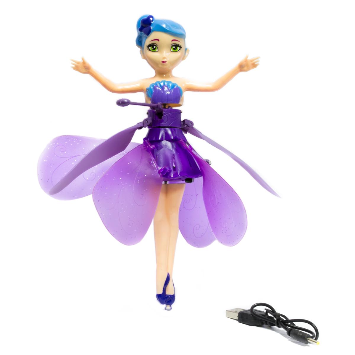 Летающая фея DIY Flying Fairy заряжается от USB Фиолетовая