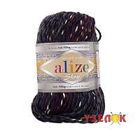 Alize Show Punto Batik Design №6365 темно серый-темно-бордовый переход