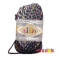 Alize Show Punto Batik Design №6371 серо-коричнево переход