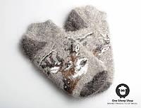 Мужские носки из козьего пуха, тёплые зимние носки для мужчин, размер 41-44, фото 1
