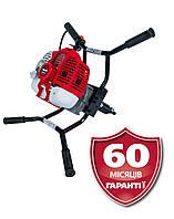 Мотобур BUM 621a (3,2 л.с) +БЕСПЛАТНАЯ ДОСТАВКА! бензиновый VITALS Professional, Латвия