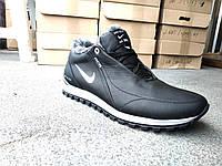 Зимние кожаные мужские ботинки Nike, фото 1