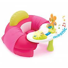 Столик с надувным сиденьем Cotoons Smoby розовый