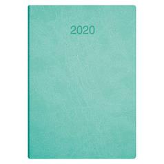 Ежедневник датированный 2020 BRUNNEN Flex Стандарт 7957044 светло-бирюзовый