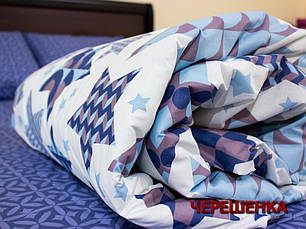 """Полуторный набор постельного белья 150*220 из Бязи """"Gold"""" №151118AB Черешенка™, фото 2"""