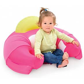 Столик с надувным сиденьем Cotoons Smoby розовый, фото 2