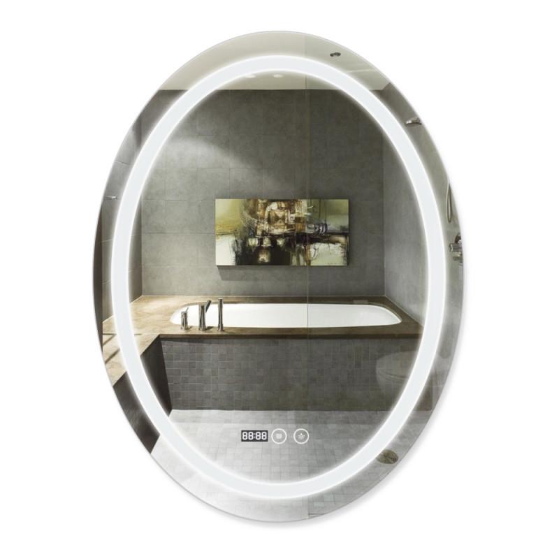 Скидка есть! Звоните. Зеркало с антизапотеванием Q-tap Mideya LED DC-F801 600х800 мм