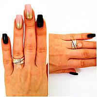 Серебряное кольцо 925 проба с натуральным кварцем