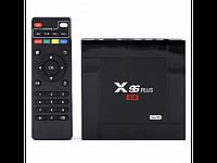 Смарт-приставка Smart TV Box X96 Plus Ultra Hd медиаплеер Android 7.1 Smart 4k Wifi 2Gb Ram 16Gb Rom Черный, фото 1