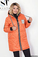 Куртка женская теплая батальная размеры: 44-62