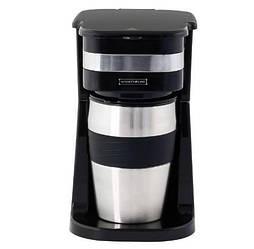 Кофеварка капельная с термокружкой Royalty Line RL-KME-700.325.4, черный