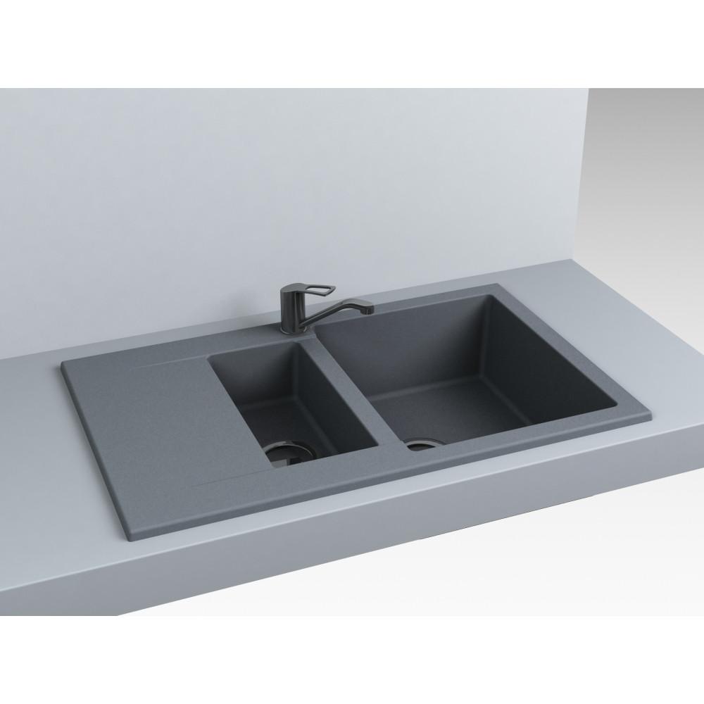 Кухонна мийка Miraggio LaPas Gray