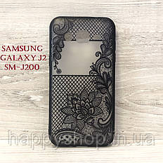 Чехол Rock Tatoo Art для Samsung Galaxy J2 (SM-J200) Magic Flowers